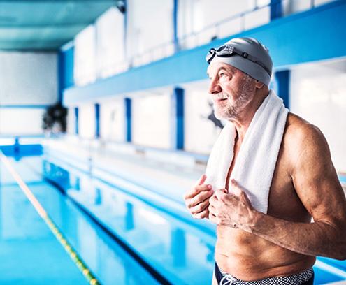 Bien vieillir permet de maintenir une activité physique régulière et de garder son autonomie
